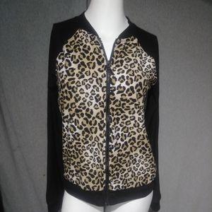 Lightweight jacket in leopard